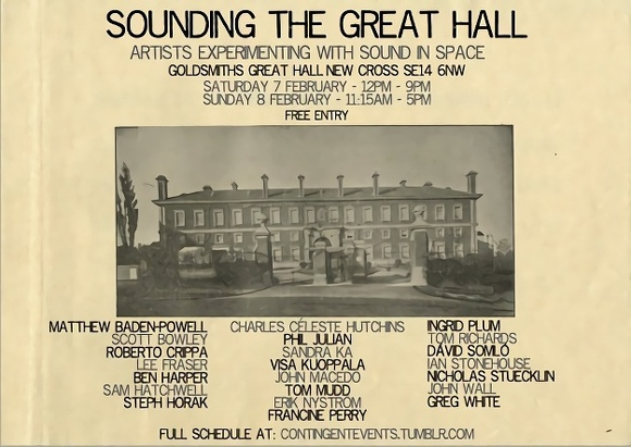 Sounding The Great Hall